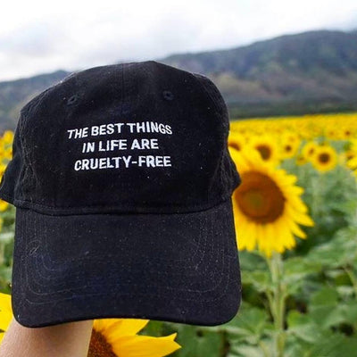 Hats & Caps - The Best Things In Life Are Cruelty-Free - Caps