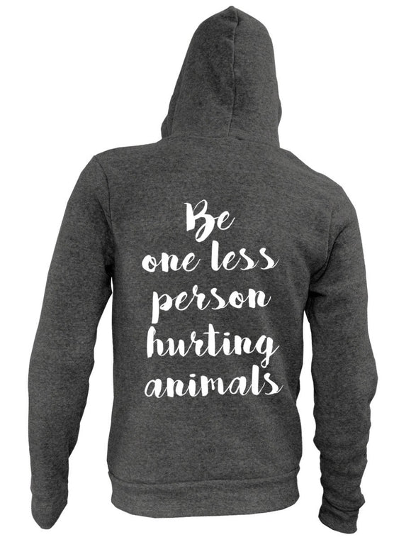 Be One Less Hurting Animals