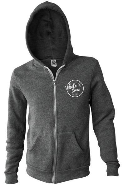 Hoodies & Sweatshirts - Powered By Plants - Lightweight Hoodie (with Zip)