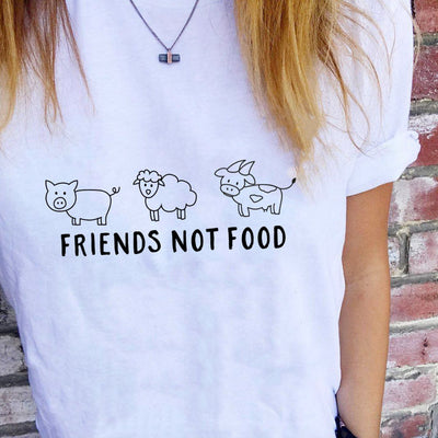 T-Shirts - Friends Not Foods - T-Shirt