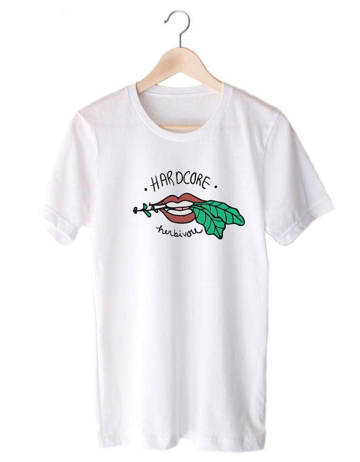 T-Shirts - Hardcore Herbivore - Colored Version - Tee