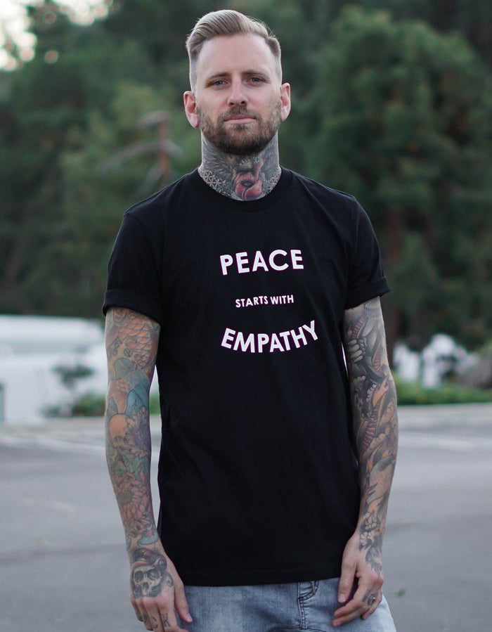 T-Shirts - Peace Starts With Empathy - Men's Tee