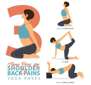 Yoga poses to stretch your shoulders