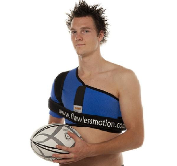 shoulder brace for rugby