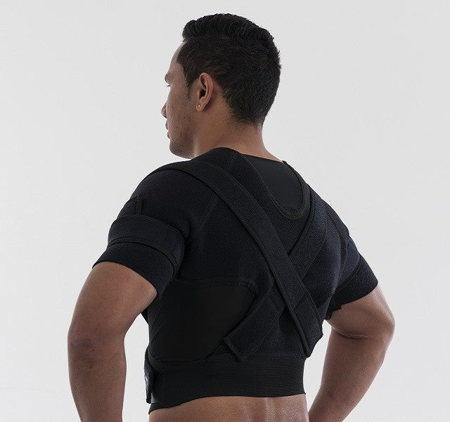 double shoulder brace for football