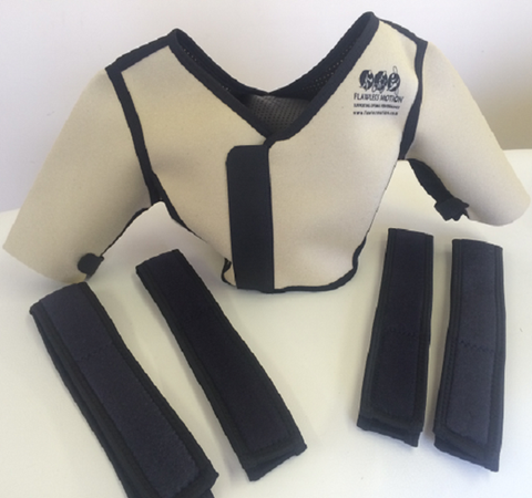 womens shoulder brace for both shoulders flawlessmotion