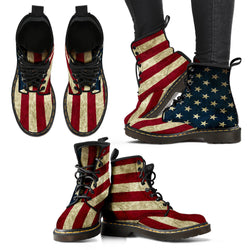 WOMEN'S US FLAG - BOOTS