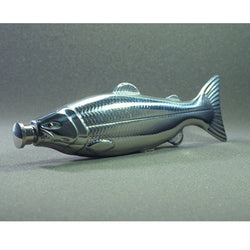 4 oz Stainless Steel Portable Fish Hip Flask