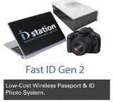 Fast ID Gen 2 Wireless Passport & ID Photo System - Lite Kit