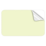 Plain White 0.38mm Adhesive Cards - 500 pack