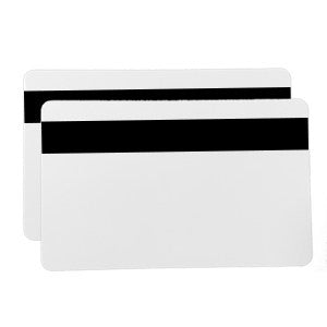 Plain White 0.76mm Mag Stripe Hi-Co Cards - 500 pack