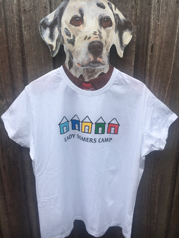 Lady Somers Camp - Hut Tee - White