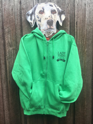 Lady Somers Camp Hoodie - Green
