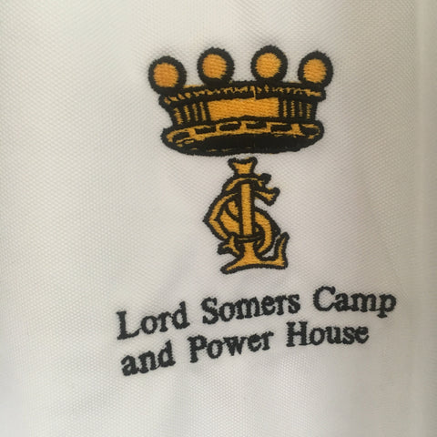 Lord Somers Camp Polo - White