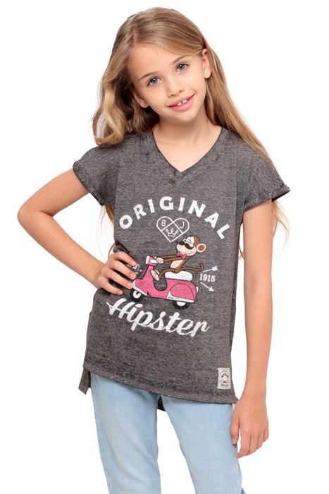 Original Hipster | Dolman Top - Charcoal