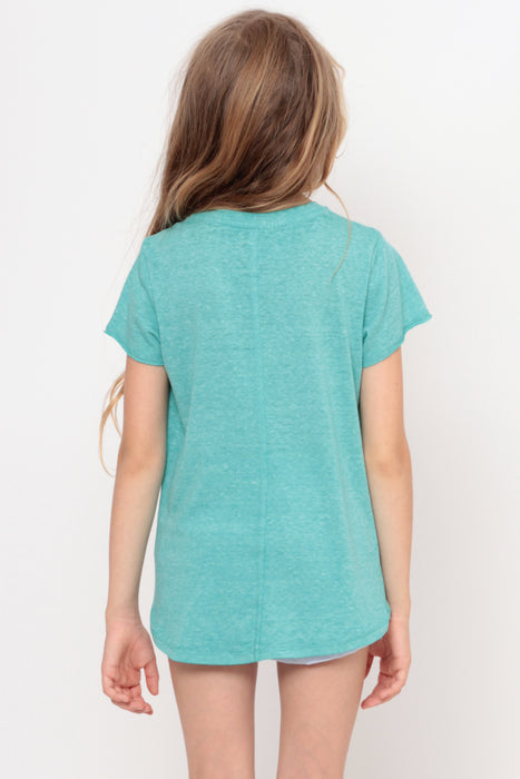 Always Looking Good | Crop Top - Aqua