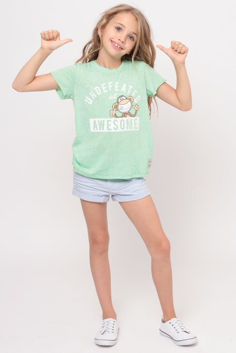 Undefeated At Awesome | Crop Top - Mint