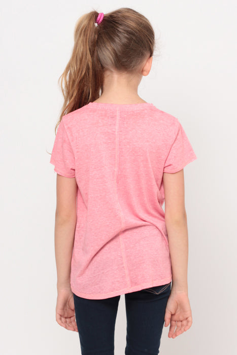 #Totally Unimpressed | Crop Top - Coral
