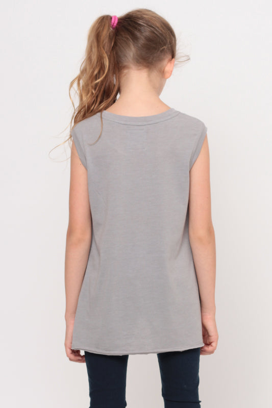 I Heart You | Muscle Top - Grey