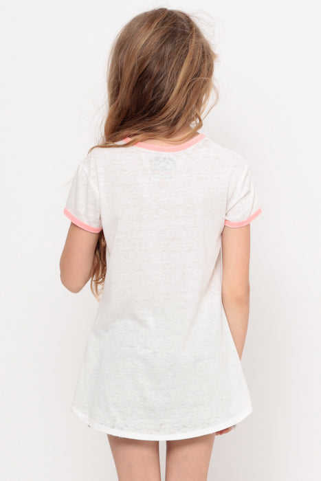 Crazy Words | Pocket Ringer Top - Ivory