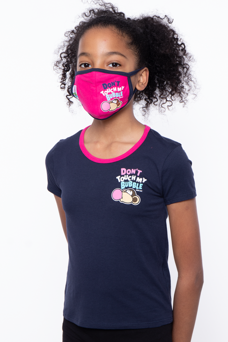 Bobby Jack Kids Mask & Shirt Set - Don't Touch My Bubble