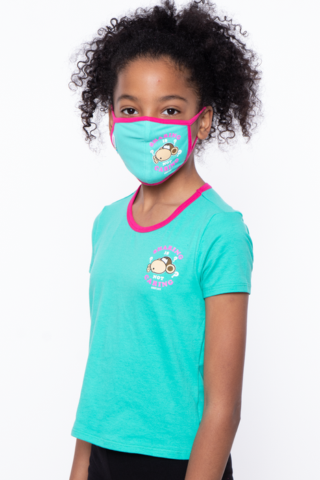Bobby Jack Kids Mask & Shirt Set - Sharing Is Not Caring