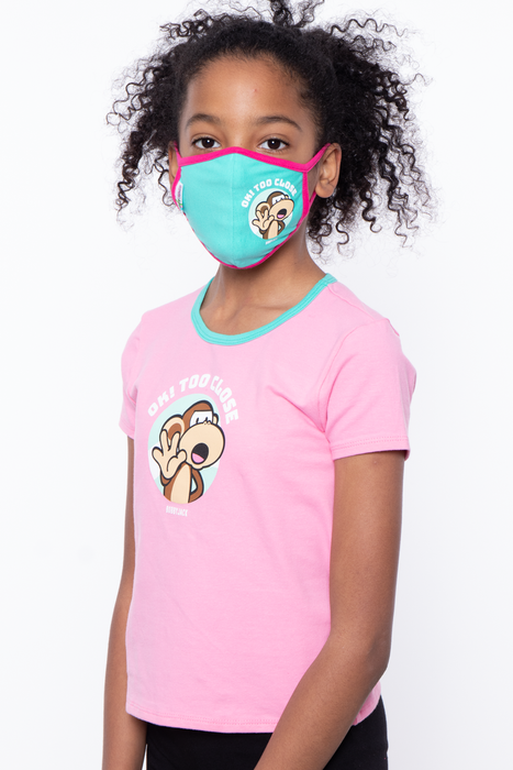 Bobby Jack Kids Mask & Shirt Set - Ok! Too Close
