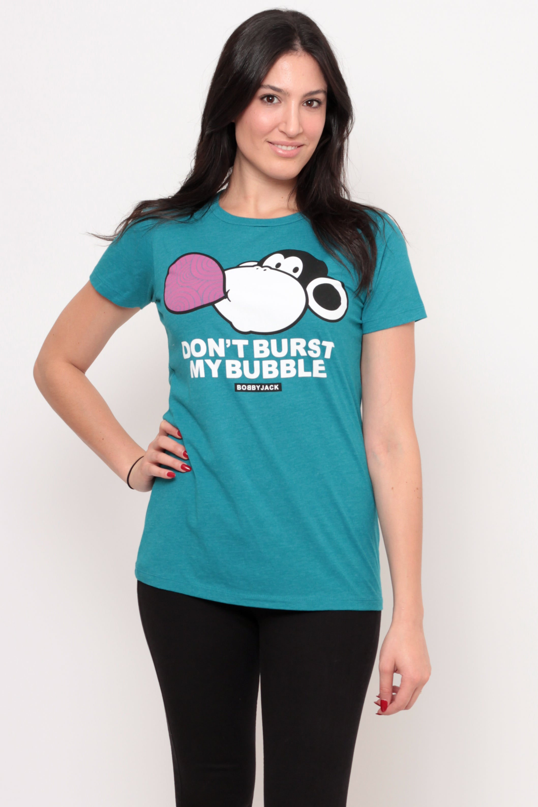 Don't Burst My Bubble | Women's Size - Teal