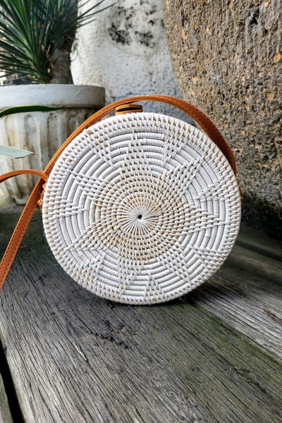 PI Rattan Bag - Handmade in Bali  - Boutique Boho Style