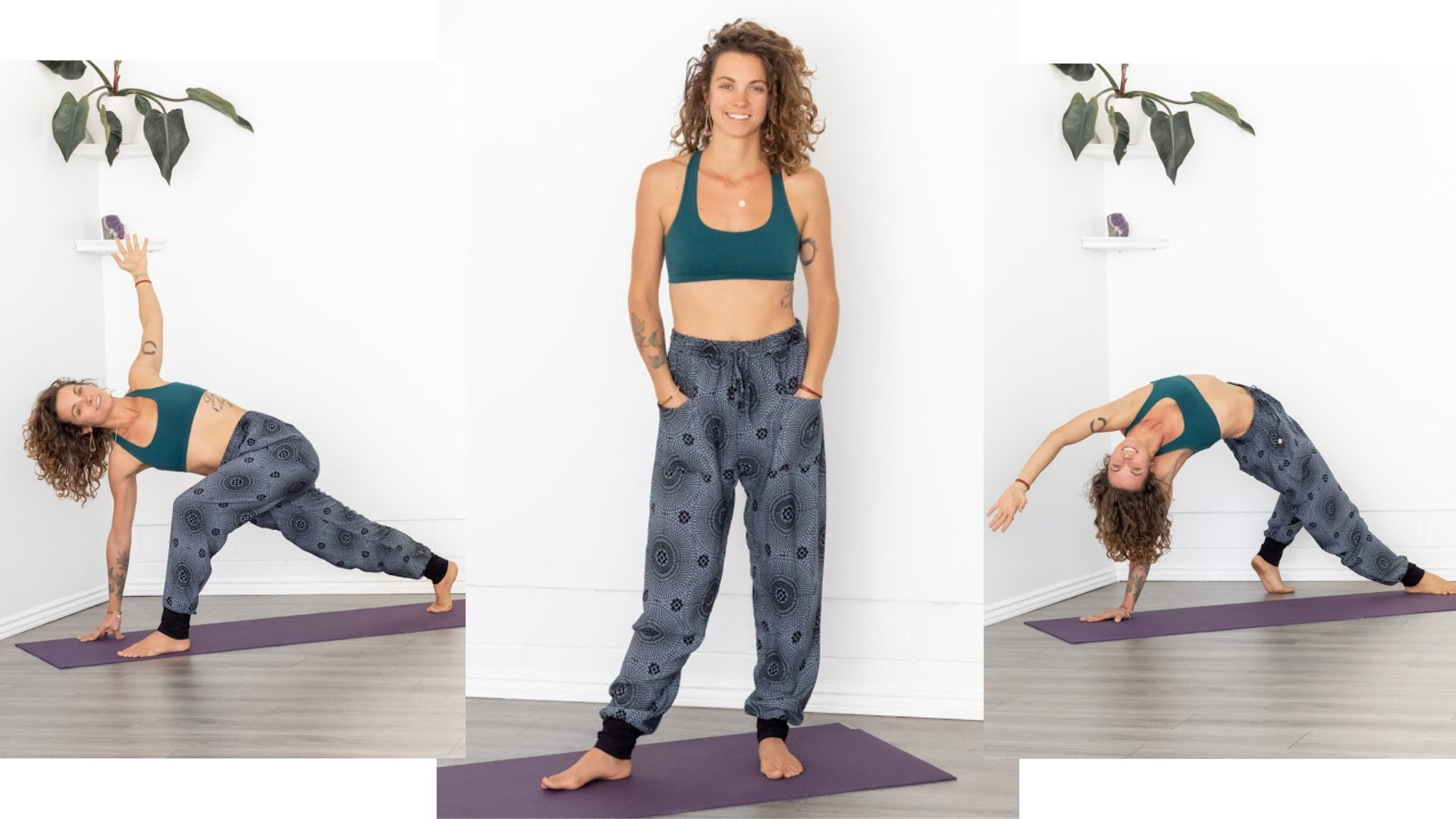 PIYOGA New Womens Joggers with Cuff and 4 Pockets
