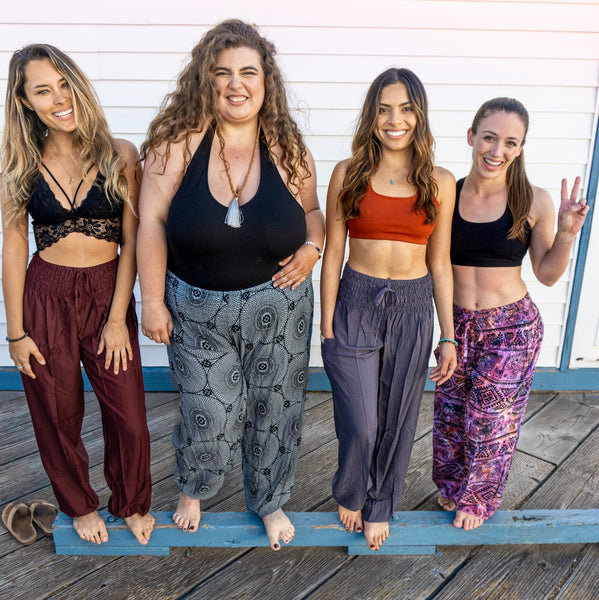 PI Yoga Pants come in regular, tall, petite, large, and plus size! Finally - comfortable yoga pants for every BODY