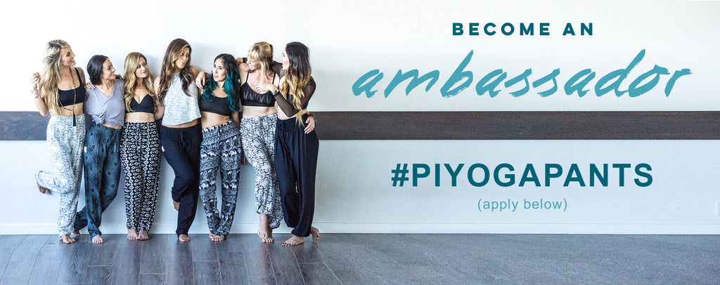 PI YOGA PANTS ambassador save sea turtle mission