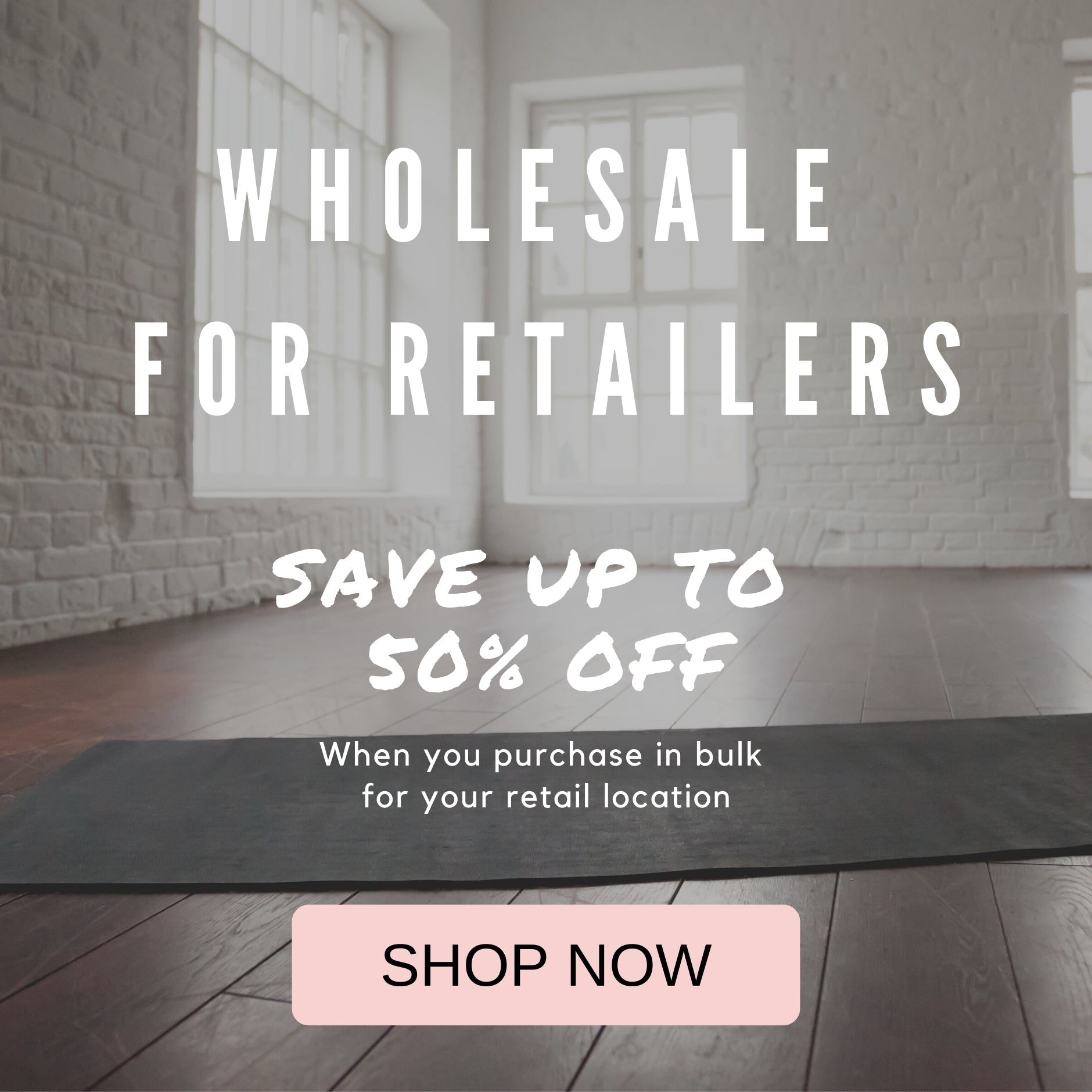 Shop PIYOGA at wholesale pricing up to 50% off with an approved retail location. Become a PIYOGA Retailer and carry PIYOGA at your yoga studio, boutique, spa, clinic & more!