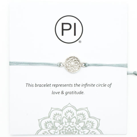 PI Yoga Pants friendship bracelets gratitude circle of life