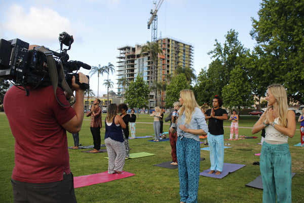 PIYOGA makes the Fox 5 San Diego news!