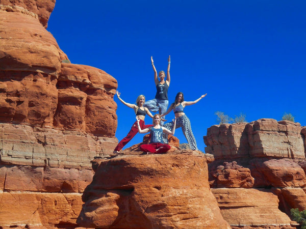 PIYOGA goes to the Sedona Yoga Festival