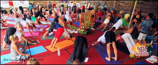 PIYOGA pants talks about the world famous Bali Spirit Yoga Festival