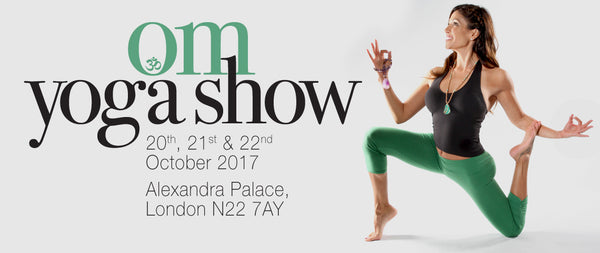 PIYOGA goes international at our first international yoga event, The Om Yoga Show, London