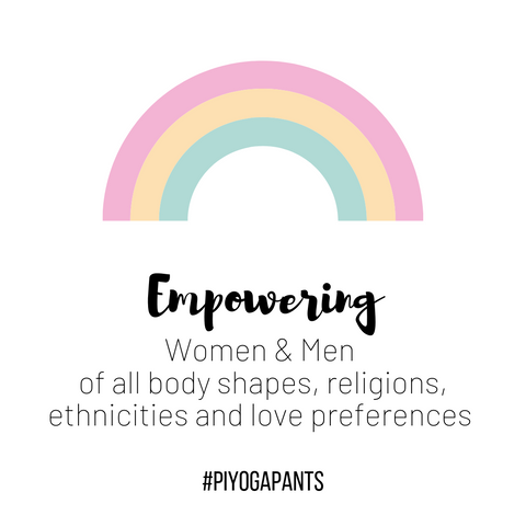 PI Yoga Pants - Empowering women