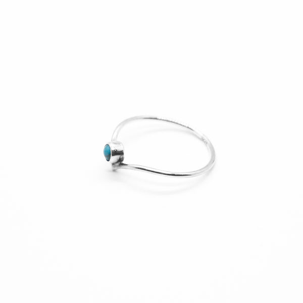 PIYOGA www.piyogapants.com Hidden Treasures - Sterling Silver Arrow Ring with Turquoise Stone - Jewelry - Rings
