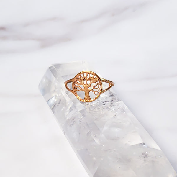 Tree of Life - Gold Ring