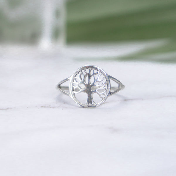 Tree of Life - Sterling Silver Ring