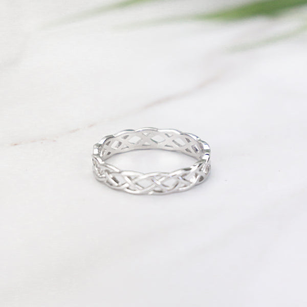 Tangled Vines - Sterling Silver Ring
