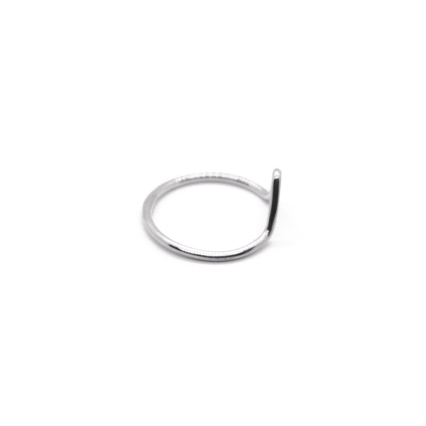 PIYOGA www.piyogapants.com Outward Love - Sterling Silver Bent Arrow Ring - Jewelry - Rings