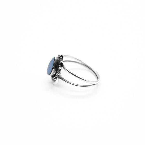 PI  -  Blue Surf Ring  -   -  Jewelry - Rings  -  pi-yoga-pants