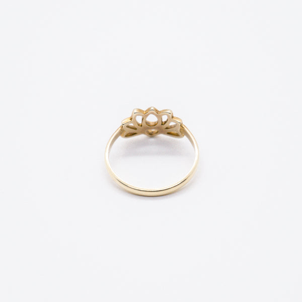 PIYOGA - Lotus Flower - Gold Ring
