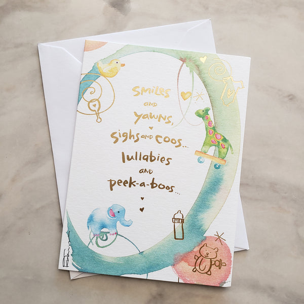 PIYOGA www.piyogapants.com Handwritten Card - All Occasions - Handwritten Cards
