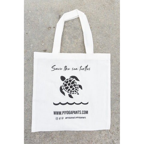 PIYOGA www.piyogapants.com Save the Sea Turtles - Tote Bag - Accessories