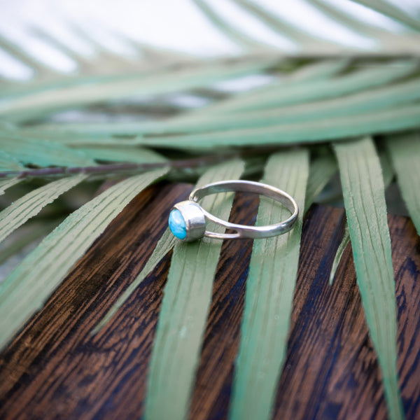 Tropical Waters - Sterling Silver Ring