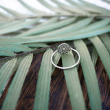 Sacred Geometry Seed of Life - .925 Sterling Silver Ring